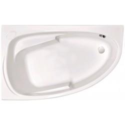 Ванна акриловая асимметричная левосторонняя Cersanit Joanna P-WA-JOANNA-140-L 140х90