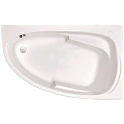 Ванна акриловая асимметричная правосторонняя Cersanit Joanna P-WA-JOANNA-140-R 140х90