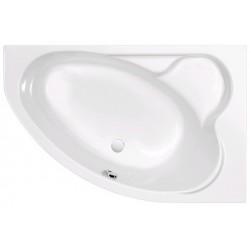 Ванна акриловая асимметричная правосторонняя Cersanit Kaliope P-WA-KALIOPE-153-PNL 153х100