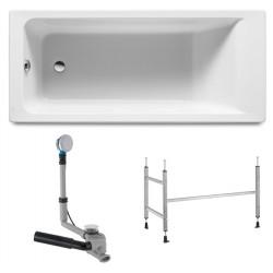 Ванна акриловая прямоугольная Roca Easy ZRU93028991 170х75