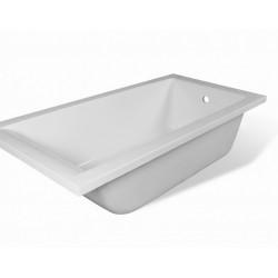 Ванна из литьевого мрамора прямоугольная Эстет Дельта (160х70)