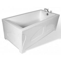 Ванна из литьевого мрамора прямоугольная Эстет Дельта (180х80)