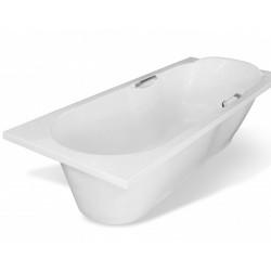 Ванна из литьевого мрамора прямоугольная Эстет Камелия (180х75)